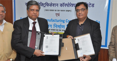 REC signs MoU with ALIMCO to distribute aids to Divyangjans