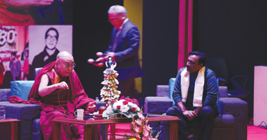 Santanu Mishra of Smile Foundation endorsed by His Holiness, The Dalai Lama