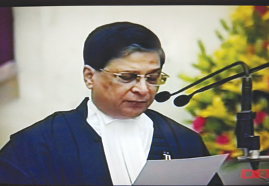Justice Dipak Misra sworn in as 45th Chief Justice of the Supreme
