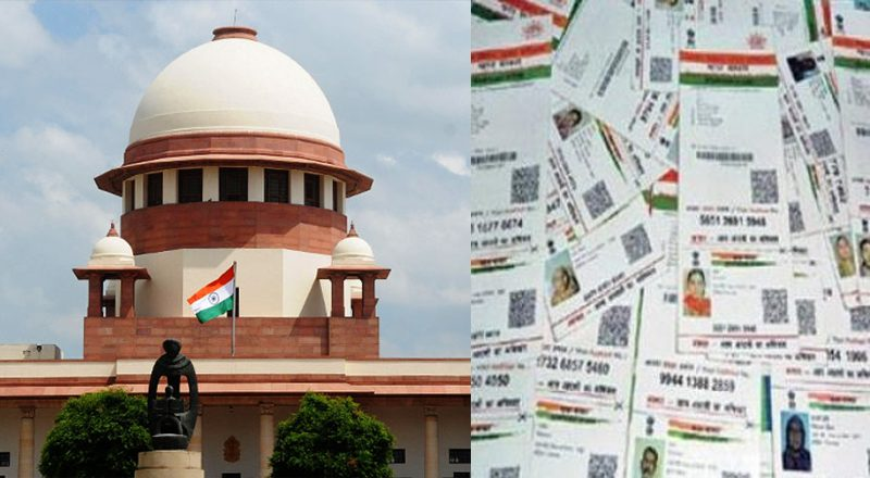 Supreme Court indefinitely extends March 31st deadline of Aadhaar linking