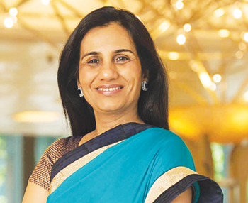 Chanda Kochhar Chief Executive Officer, ICICI Bank