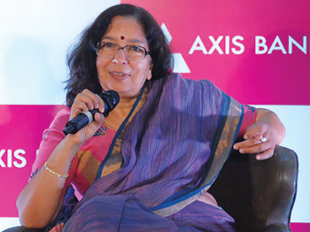 Shikha Sharma CEO, Axis Bank