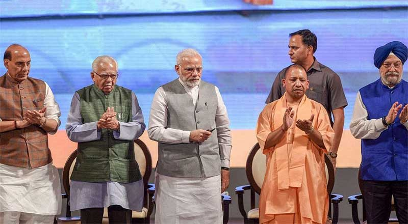 Modi launches 81 projects with an investment of Rs 60,000 crore in UP