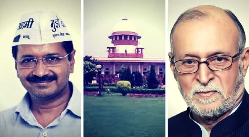 SC gives its verdict in favour of Delhi CM