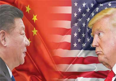 US China trade war continues