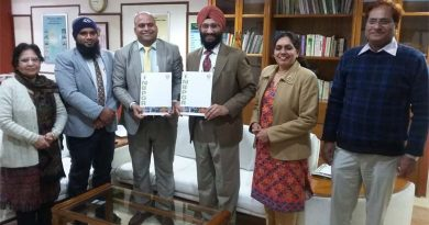 Sanskriti University signs MoU with ICAR-NBPGR