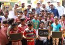LG India turns empty box into tools for education on Global Recycling Day