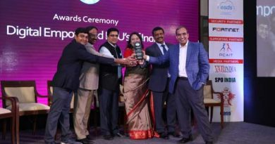 Centre For Development of Telematics(C Dot) receives Digital Empowered PSU of India Award at 3rd Cyber Security Conclave 2019