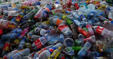 Plastic Waste from water bottles and the environment