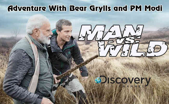 Adventure With Bear Grylls and PM Modi