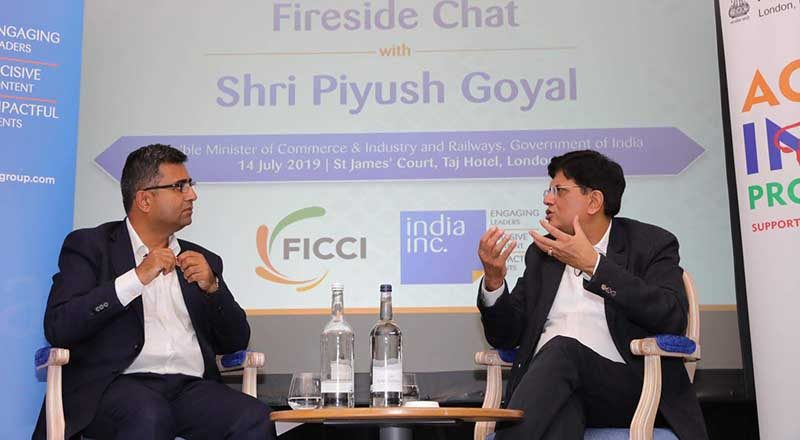 Piyush Goyal address India Day Conclave in London