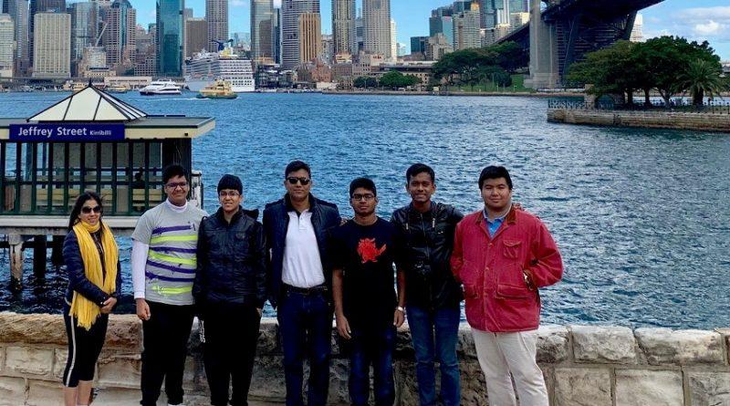 Visiting-Sydney