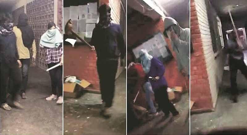 26 injured in JNU violence led by masked men