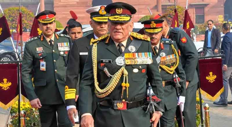 Chief of Defence Staff emphasizes on counter radicalization camps