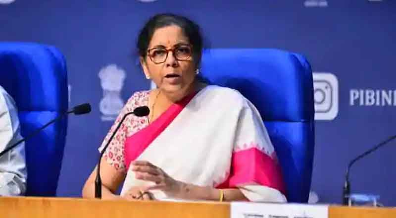 Nirmala Sitharaman launches facility for instant allotment of PAN using Adhar based e- KYC