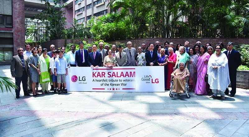 LG Electronics India contributes under 'Kar Salaam' for Armed Forces