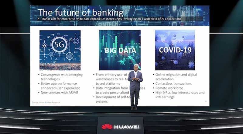 5G will unleash power of data-drive intelligent finance: Huawei