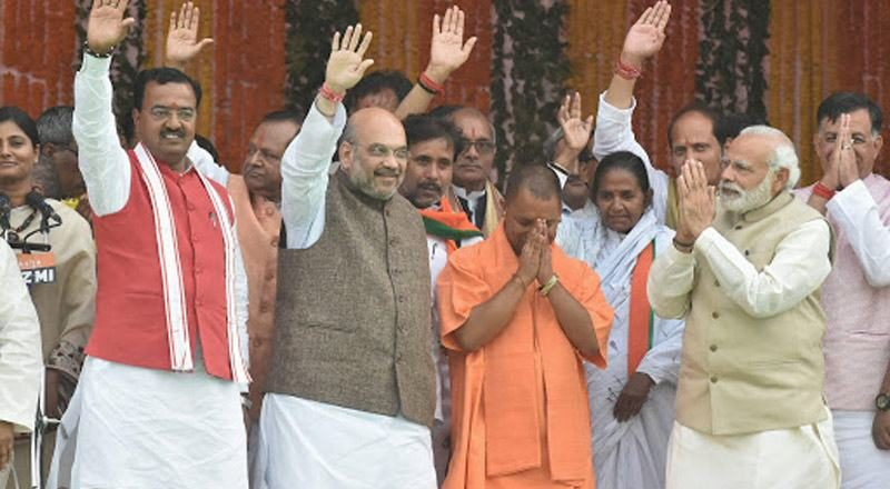 BJP is gearing it's focus for UP elections