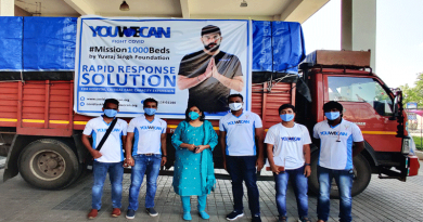 Yuvraj Singh's Foundation YouWeCan and Accenture Add 120 Critical Care Beds to Government General Hospital in Nizamabad